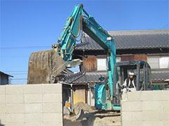 建物解体サービス