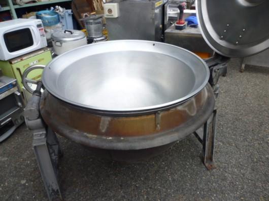 大きなお鍋登場・・・