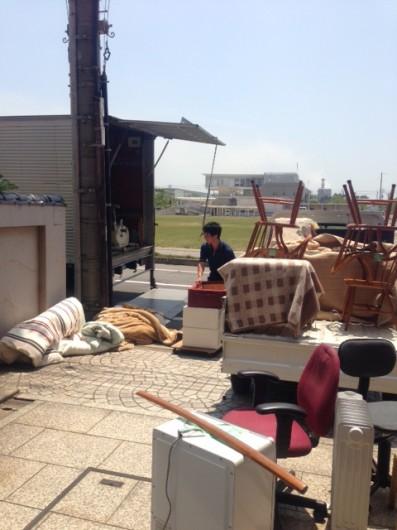 家具搬出作業