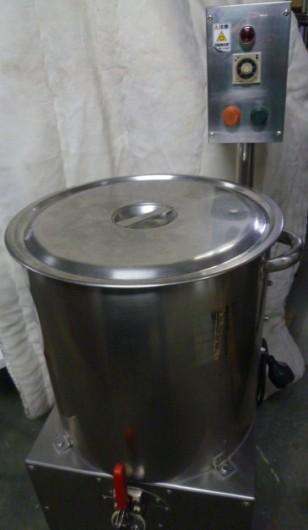 巨大な鍋?ではありません