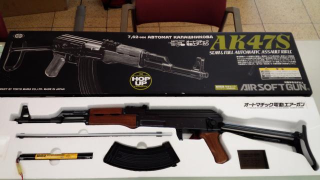 モデルガン好き必見?マルイ製AK47S入荷しました!