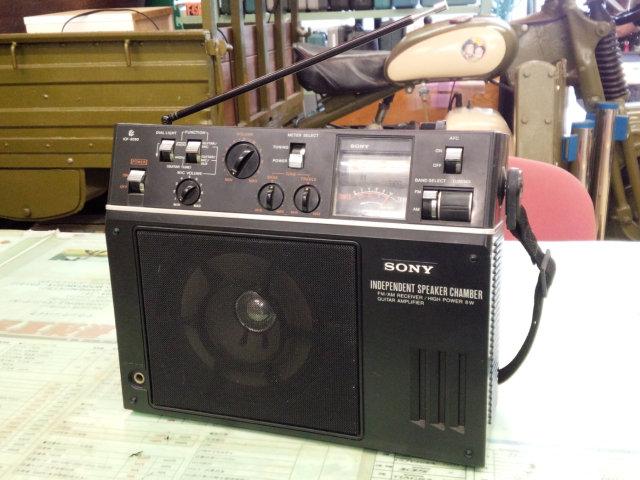 ソニー製ギターアンプラジオ ICF-9090