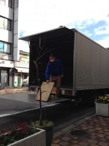 岡山市にオフィス引上げに行ってきたですぞ~。。