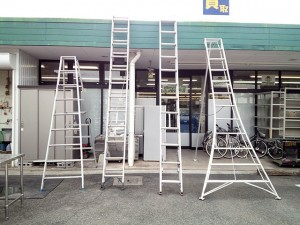 無料貸出しはしご