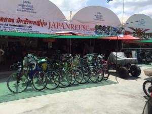 タイの現地リサイクルショップ