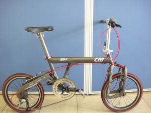 スポーツ折り畳み自転車BD-1が入荷しました。