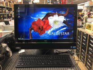 NEC VALUESTAR ディスプレイ一体型PCが入荷♪