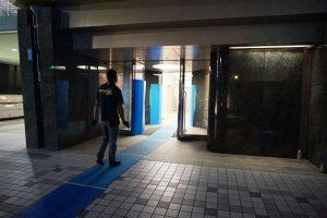広島までオフィス家具の買取に行ってきました♪…夜間作業( ゚Д゚)