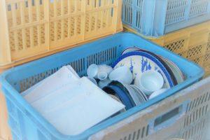 兵庫県から中古食器の持込みがありました(*_*)