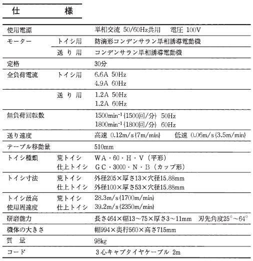 【工具・岡山】日立 自動刃物研磨機 GK150F+UP20買取しました!