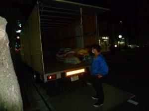 岡山市にオフィス家具の引取りに行ってきました。