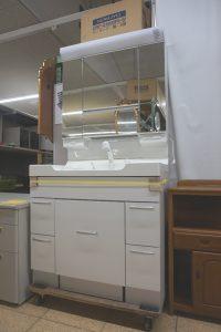 住宅メーカーより 展示場の洗面台を買取りさせていただきました(≧▽≦)